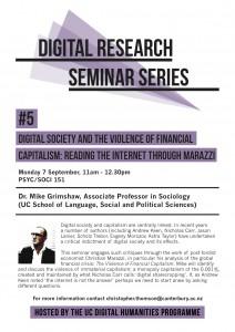 Digital Research Seminar#5 poster